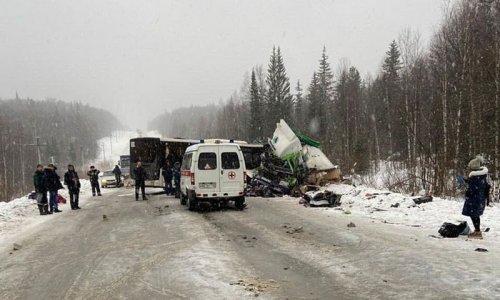 41 человек пострадал в аварии с автобусом. Страшные фото